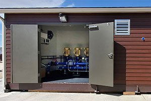 Dual Room Municipal Turnkey Booster System