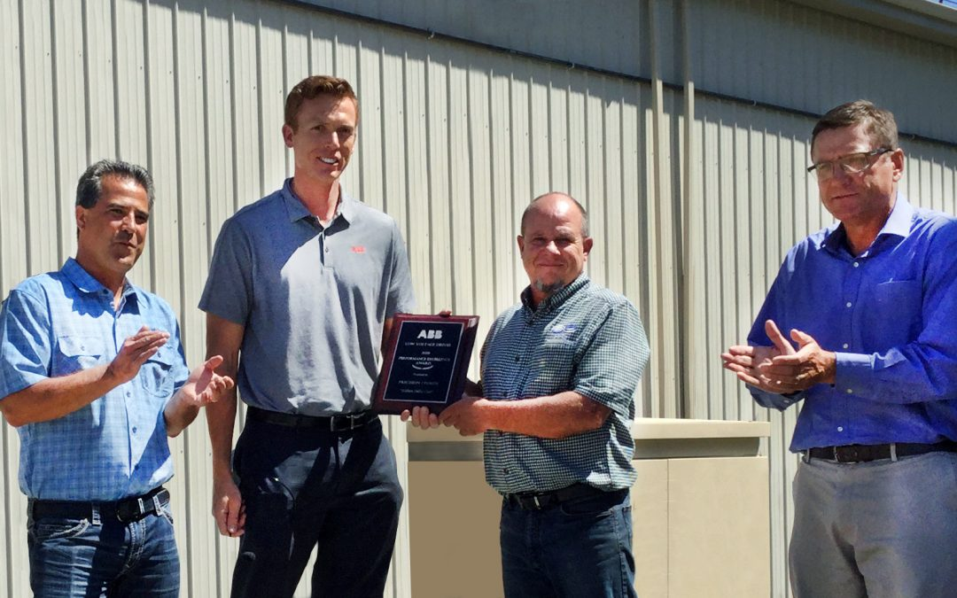 PPS Receives ABB 2020 Performance Excellence Award